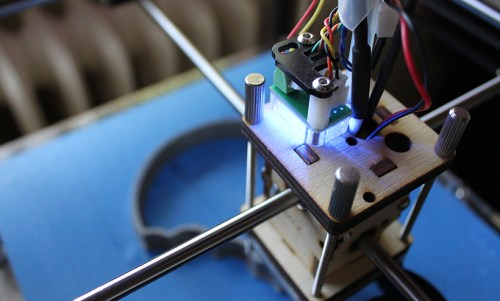 Picture of 3D printer.