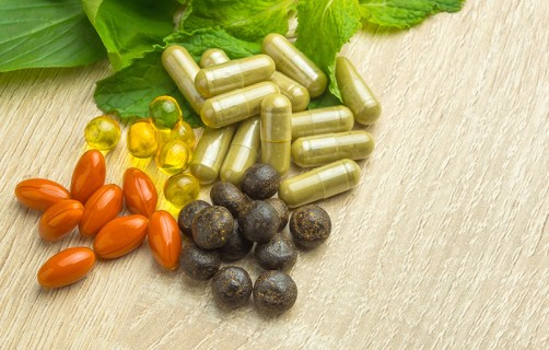 Picture of vitamins