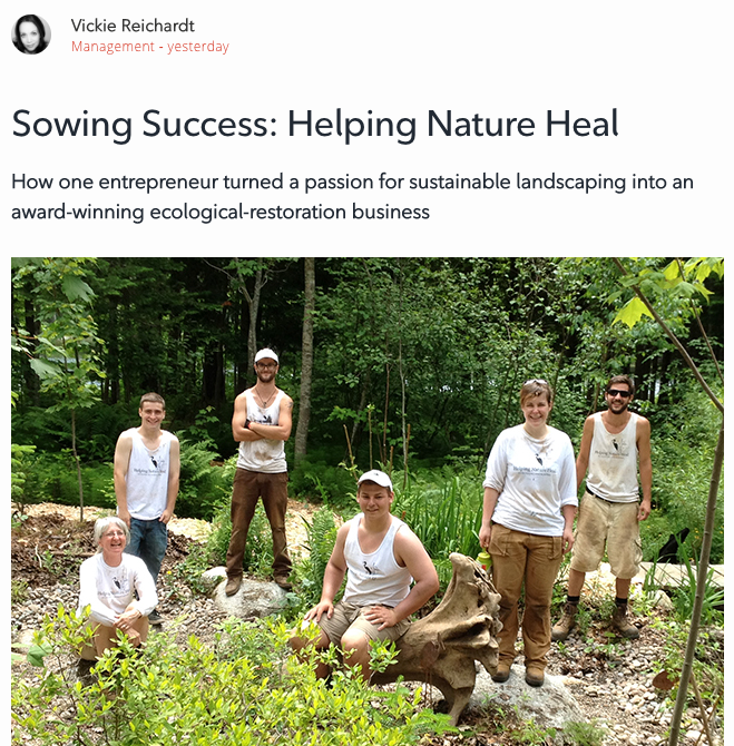 Rogers Business Forum on Helping Nature Heal