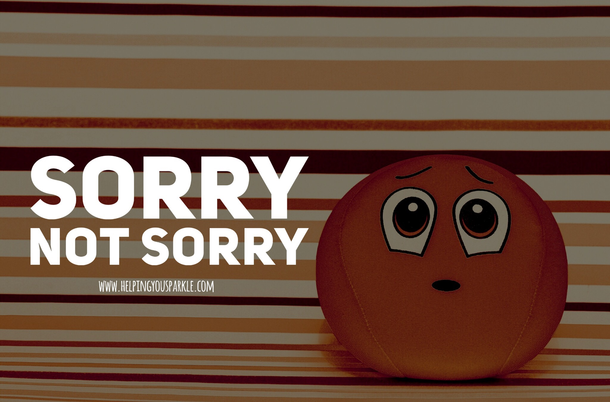 Sorry, not sorry – why we need to stop apologising when it's not our fault