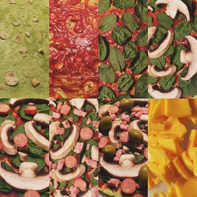 Delicious Frugal Healthy Pizza