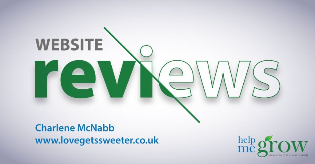 Love Gets Sweeter Website Review