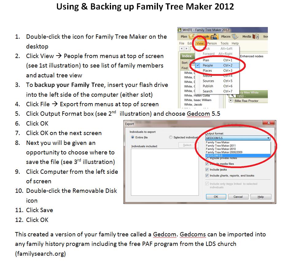 Family Tree Maker 2005
