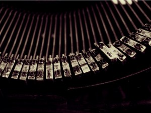 Keys from an old typewriter