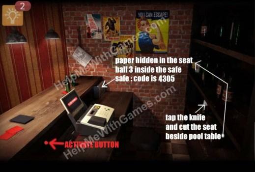 Spotlight Room Escape Chapter Menace Billiards Bar