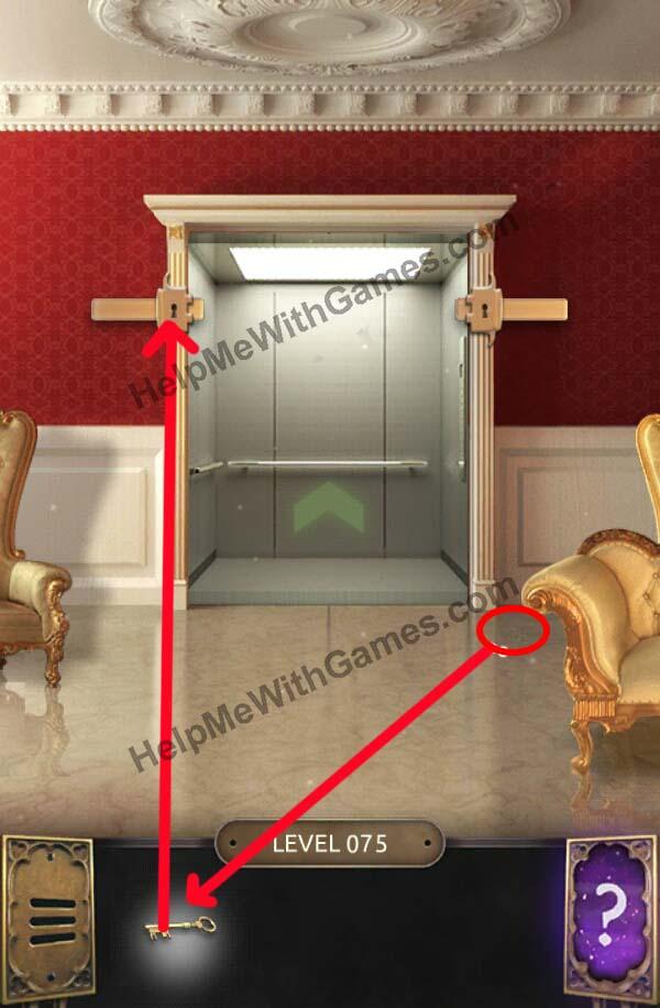 Click here to Escape! & 100 Doors Challenge u2013 Walkthrough u2013 Level 75 u2013 HelpMeWithGames