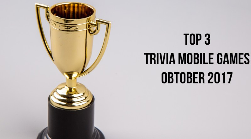 HelpMeWithGames' Top 3 Trivia Mobile Games of October 2017