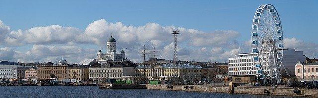 Kuva Helsingin torin rannasta