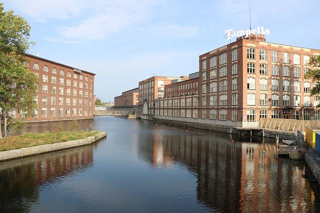 Tampellan tehdas Tampereella