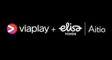 Elisa Aitio ja Viaplay yhdistyivät.