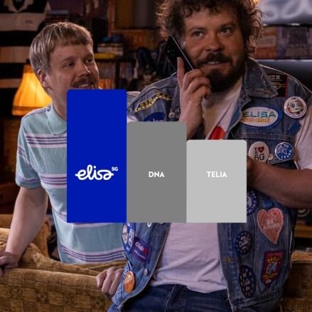 Elisalla on Suomen kattavin 5G-verkko.