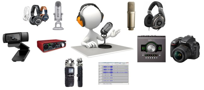podcast equipments