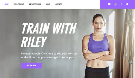 importance of a website for a gym or personal trainer
