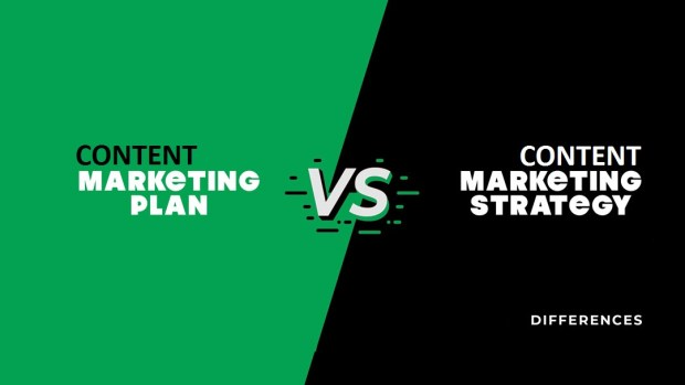 difference between content plan and content strategy