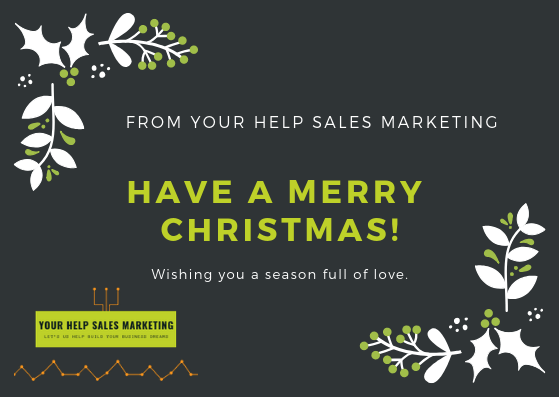 From Your Help Sales Marketing Advertising for December 2018