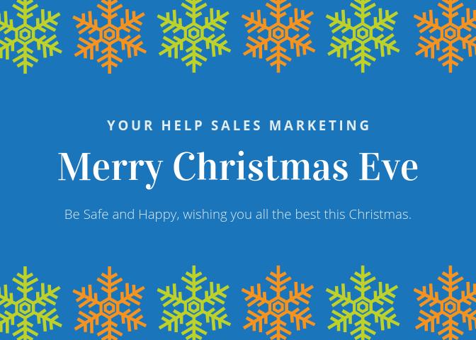 Seasons Greetings Advertising for December 2018