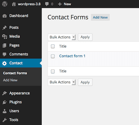 Contact Form is not working in WordPress any more?