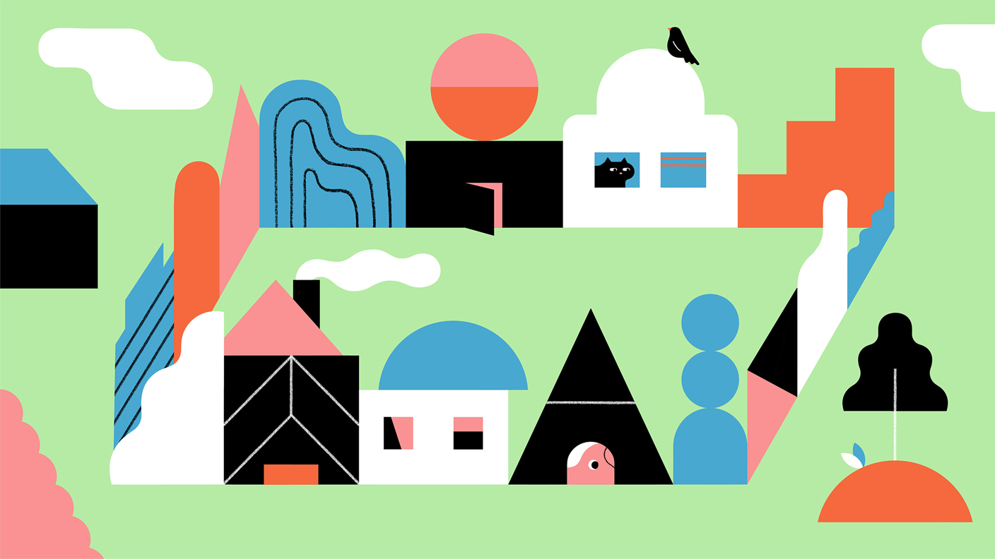 How To Draw Buildings With Shapes