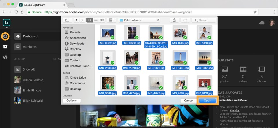 Online photo editor and organizer | Adobe Photoshop Lightroom ...
