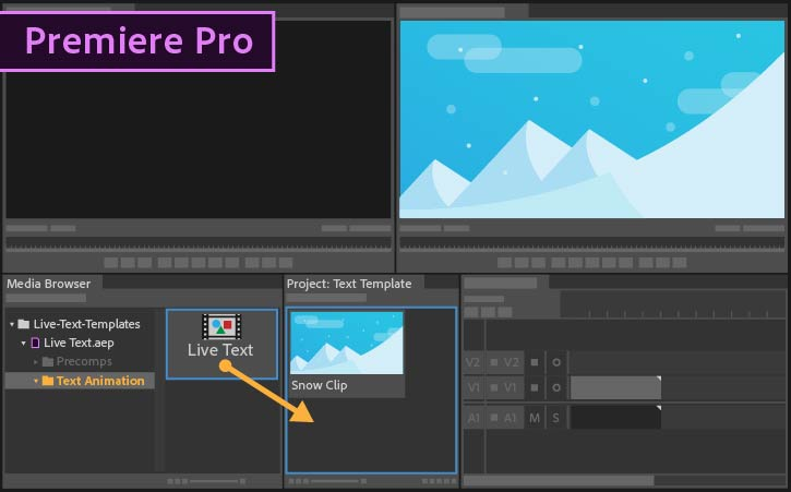 how to make text appear in premiere pro
