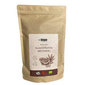 Planteprotein m. kakao vegansk Ø