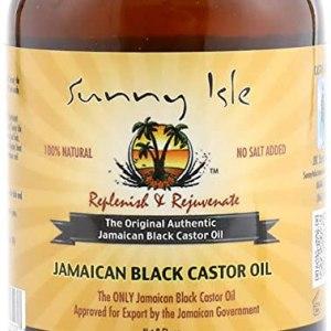 SUNNY ISLE JAMAICAN BLACK CASTOR OIL Castor Oil 236 ml. Sunny Isle Extra Dark Jamaican Black
