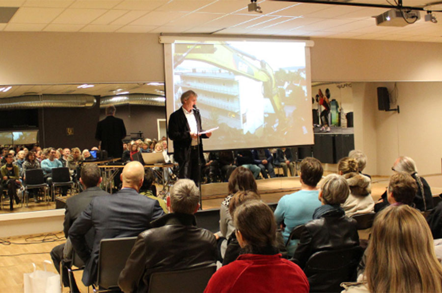 Konferansesal for 200 personer