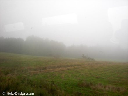 Nebel über Uusimaa