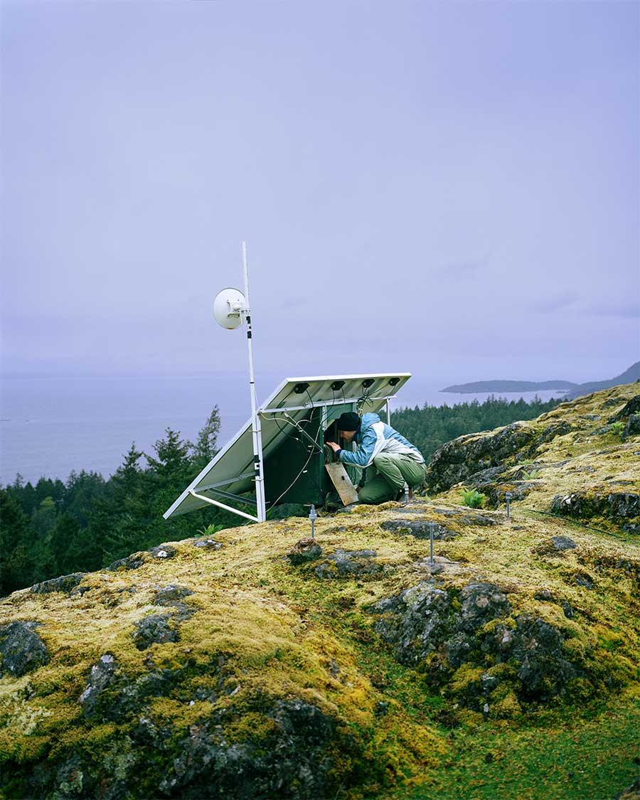 Broadband from the series Voices in the Wilderness by Ryan Walker
