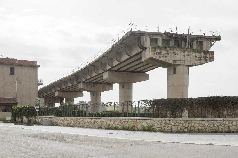 The bridge to nowhere by Claudio Verbano