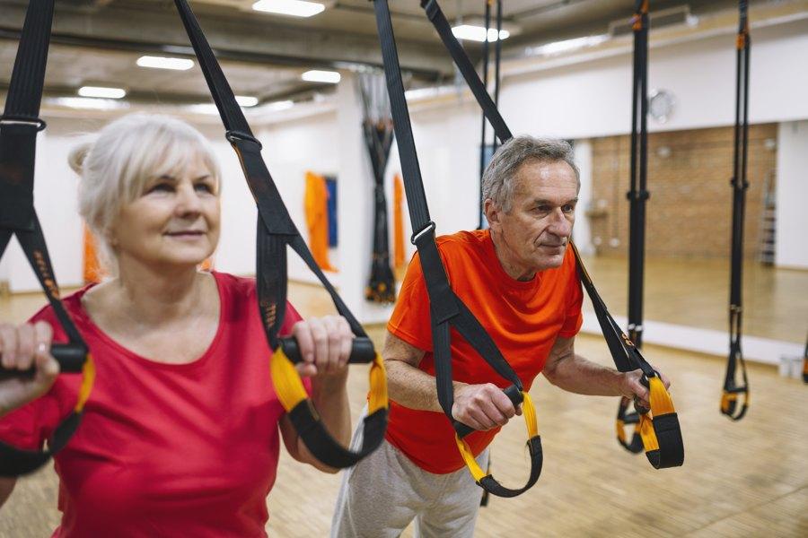 Beneficios del ejercicio en mayores de 65 años