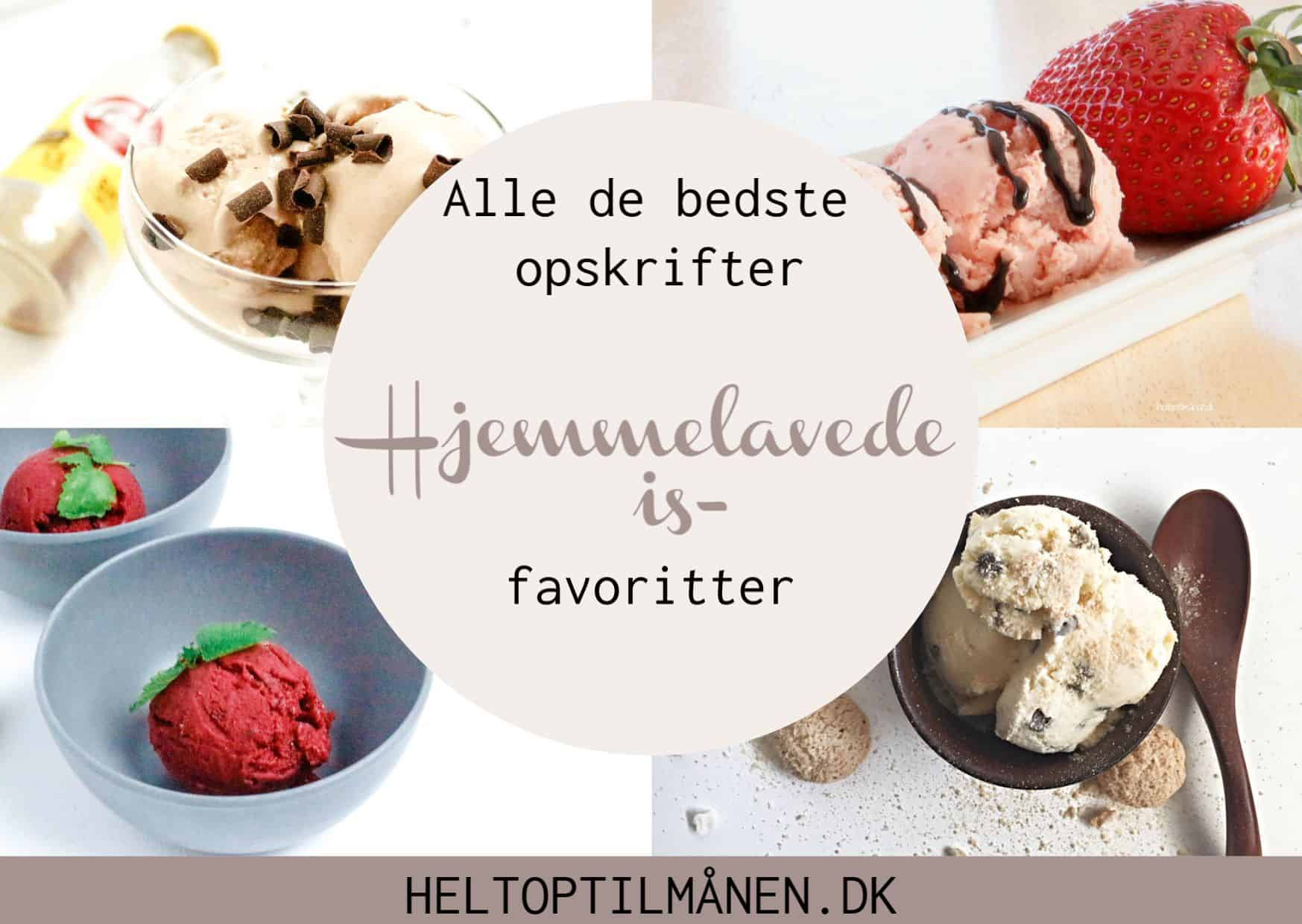 Hjemmelavede is-favoritter