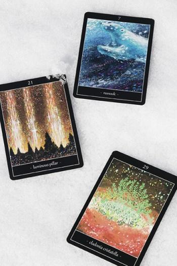 雪とタロットカード2