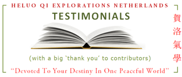 Heluo Hill testimonials 9 Star Ki - Feng Shui - Four Pillars of Destiny