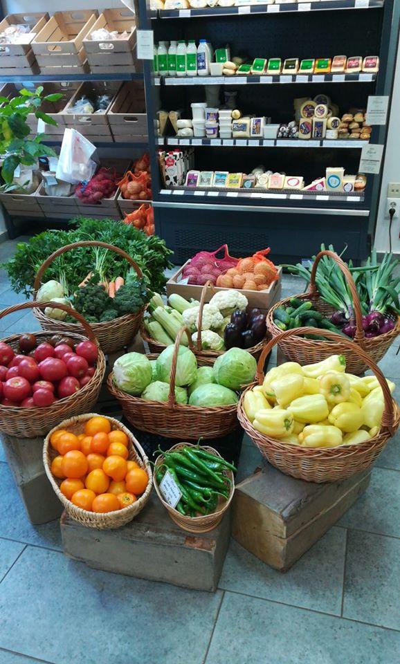 Friss zöldség- és gyümölcs