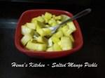 Salted Mango Pickle