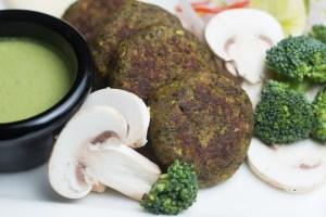 Mushroom & Brocolli Shammi 13
