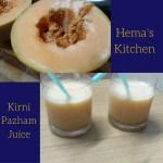 Kirni Pazham (Musk Melon) Juice