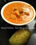 Raw Mango Kuzhambu / Gravy