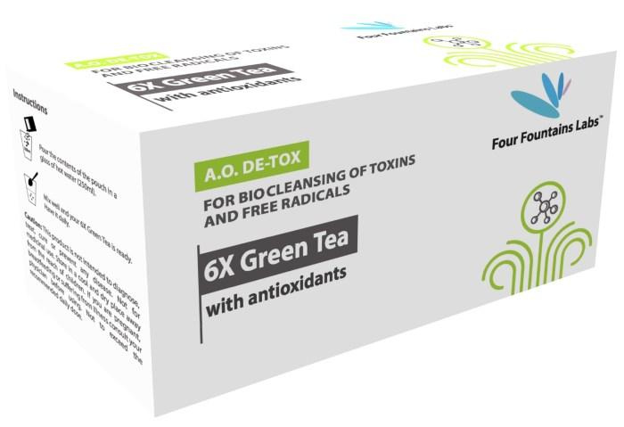 6X green tea
