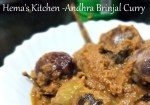 Stuffed Brinjal / Eggplant Curry – Andhra Style