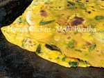 Methi Paratha / Fenugreek Leaves Paratha