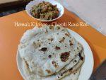 Chiroti Rava Roti / Rava Bhakri / Sooji Roti