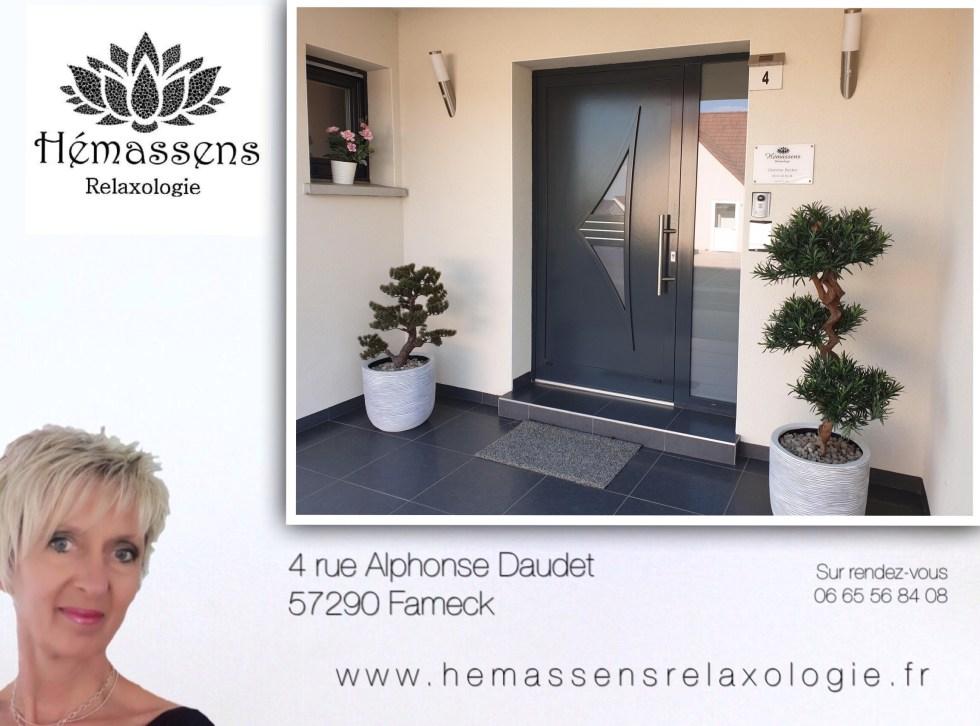 Hémassens Relaxologie 4 rue Alphonse Daudet 57290 Fameck