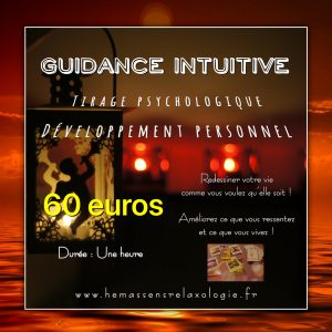 Guidance intuitive : Tirage de cartes de développement personnel, coaching de vie