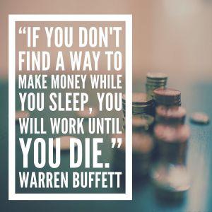 Money while you sleep