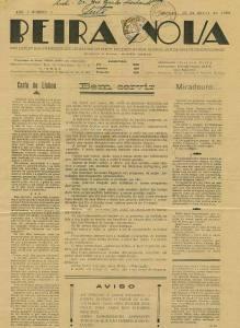 Beira Nova Nº1 10 04 1932 Peq
