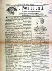 O Povo Da Certã Nº1 23 03 1909 Peq