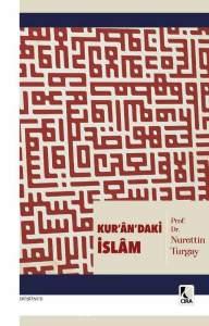 Kur'an'daki İslam, Nurettin Turgay, kitap kapak fotosu