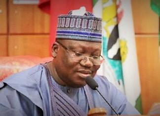 Ahmad Ibrahim Lawan, président du Sénat nigérian © Pulse.ng/ HA